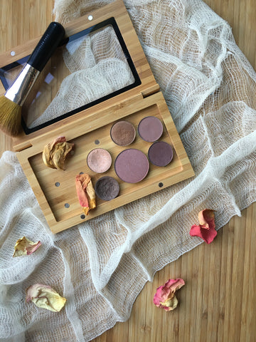 Root Organic Vegan Gluten Free Makeup Fall Pressed Collection