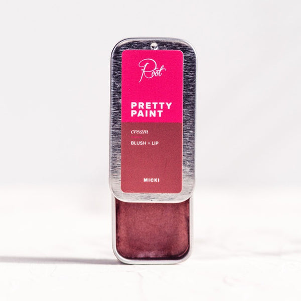 Micki • Pretty Paint Cream Blush + Lip