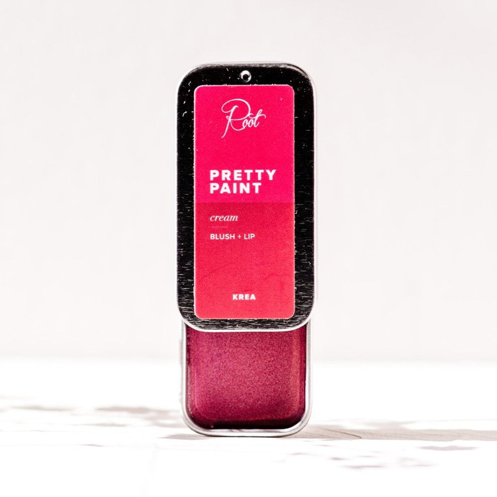Krea • Pretty Paint Cream Blush + Lip