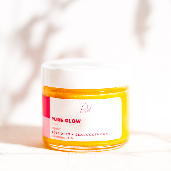 Pure Glow Rose Otto + Seabuckthorn Organic Beauty Balm