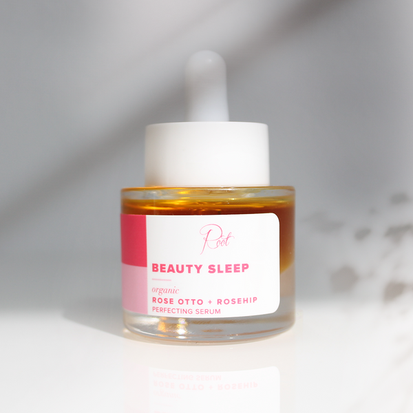 Limited Edition • Organic Rose Otto + Rosehip Beauty Sleep Perfecting Serum • .6oz