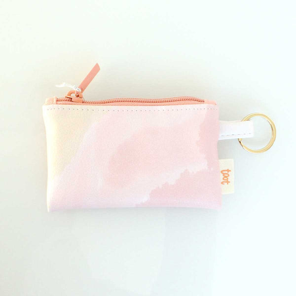 Daydream Vegan Leather Lip Wallet Pouch