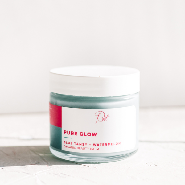 Pure Glow Blue Tansy + Watermelon Organic Beauty Balm