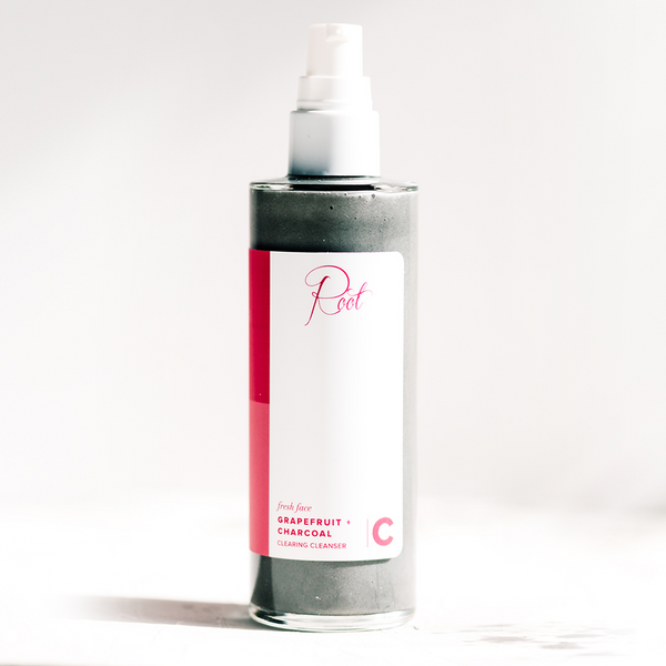 Fresh Face Grapefruit + Charcoal Clearing Cleanser