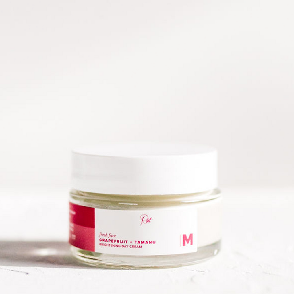 Trial Fresh Face Grapefruit + Tamanu Brightening Day Cream