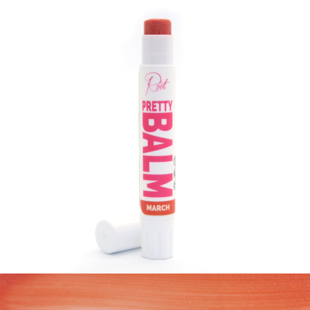 March Pretty Balm • 100% Natural • Vegan • Tinted Lip Balm