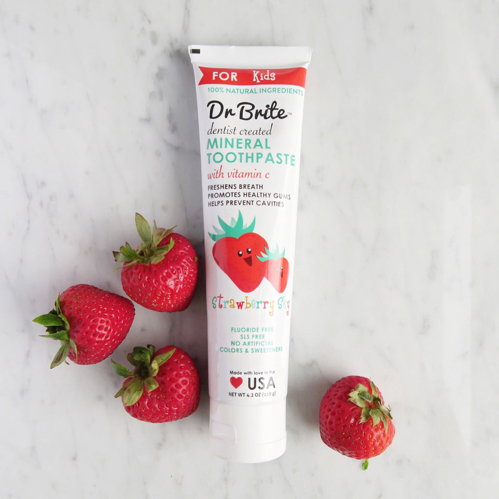 Dr. Brite Strawberry Sky Kid's Toothpaste