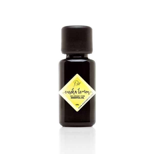 Organic Eureka Lemon Essential Oil