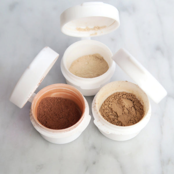 Sample Pearl Powder Mineral Foundation