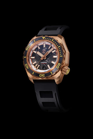Hammerhead 2 1000m Bronze 'Forged Carbon' Seiko NH35