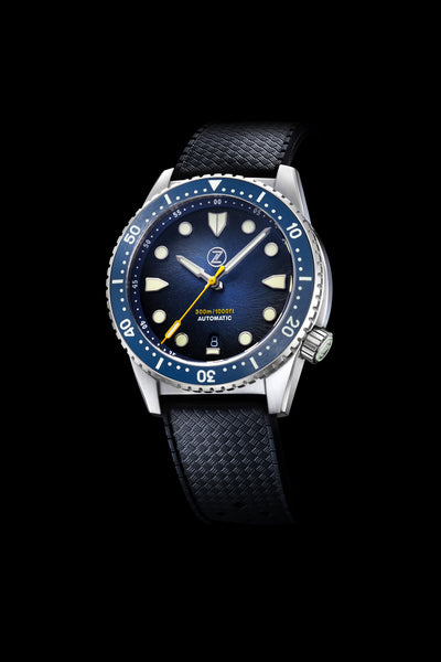 Mako V3 300m Steel 'Midnight Blue'