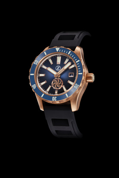 Abyss 3 3000m Bronze Turbine Midnight Blue