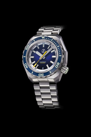 Hammerhead 2 1000m Steel 'Midnight Blue' ETA2892