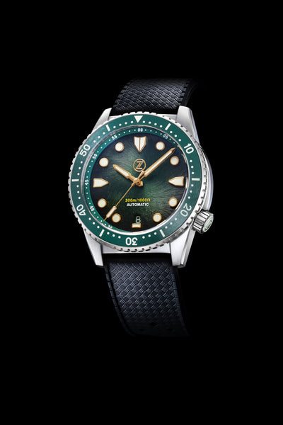 Mako V3 300m Steel 'Antique Green'