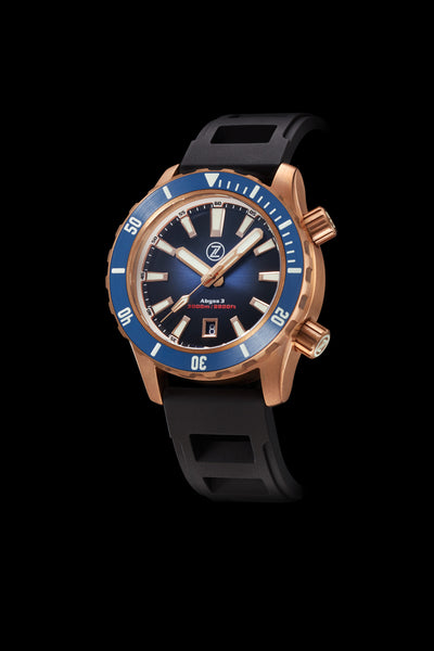 Abyss 3 3000m Bronze Midnight Blue
