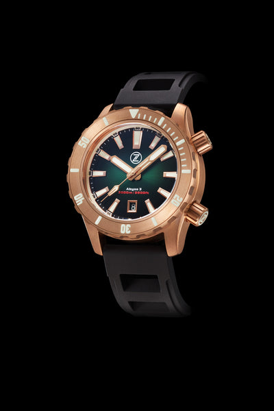 Abyss 3 3000m Bronze Hunter Green
