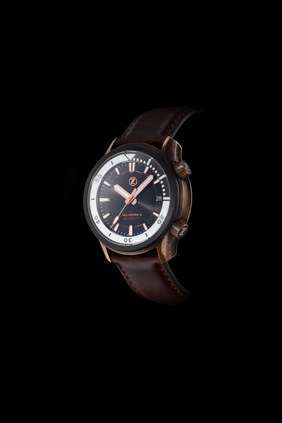 Helmsman 2 300m : Bronze Black Ceramic
