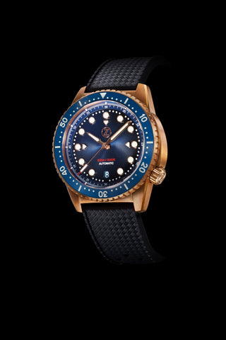 Mako V2 500m Diver Bronze Midnight Blue