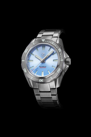 Swordfish V2 300m Diver Seiko NH35 Ice Blue