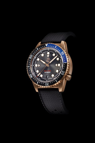 Mako 500m Bronze Diver Black/Blue