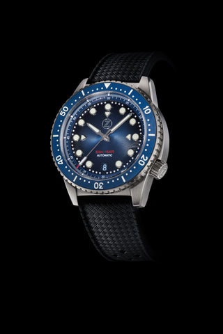 Mako V2 500m Diver Steel Midnight Blue Launch