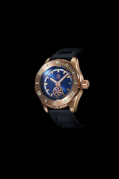 Abyss 2 Turbine 3000m Bronze : Blue