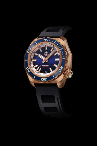 Hammerhead 2 1000m Bronze 'Midnight Blue' Seiko NH35