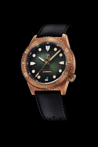 Mako V3 300m Bronze Hunter Green Launch Special
