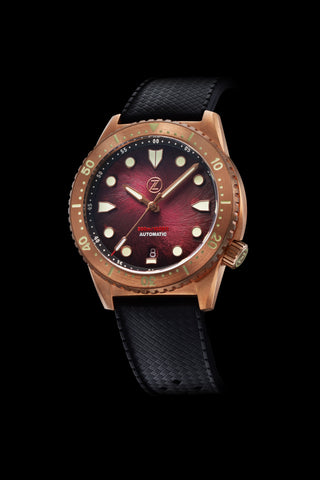 Mako V3 300m Bronze Burgundy Launch Special