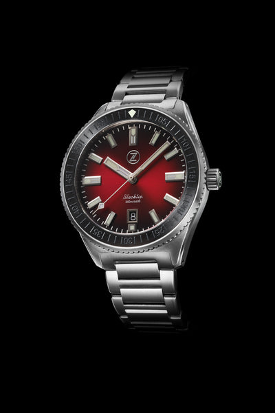 Blacktip 200m Diver Crimson Red