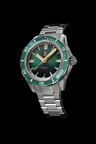 Swordfish 40mm SS Emerald Green Launch Special