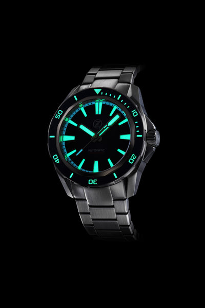 Swordfish V2 300m Diver Seiko NH35 Forged Carbon