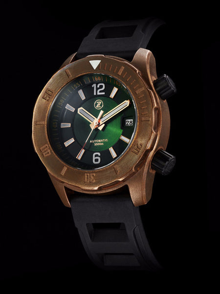 bronze watch