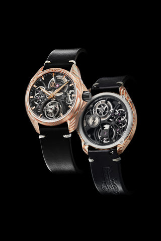Mirage Tourbillon - Mokume Gane