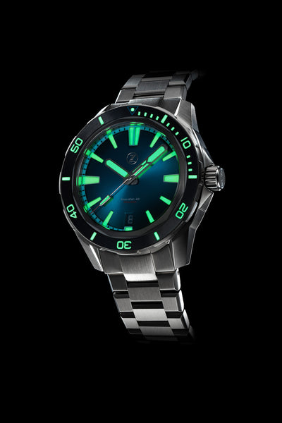 Swordfish 40mm SS Emerald Green