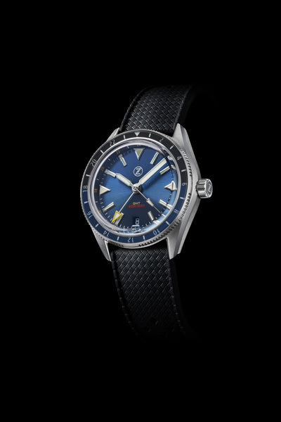 Horizons V2 GMT 200m SS Midnight Blue Launch Special