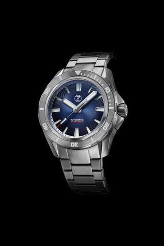 Swordfish V2 300m Diver Seiko NH35 Helical Blue