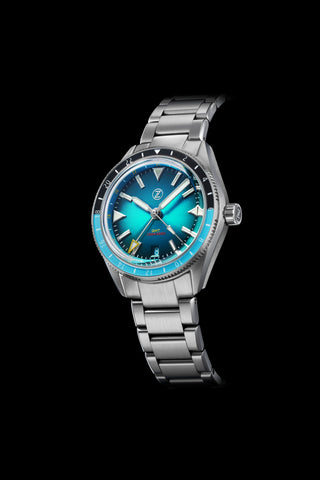 Horizons V2 GMT 200m SS Teal Launch Special
