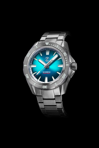 Swordfish V2 300m Diver Seiko NH35 Teal Launch Special