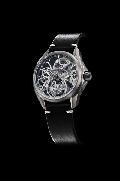 Mirage Tourbillon - Titanium (Silver Mainplates)