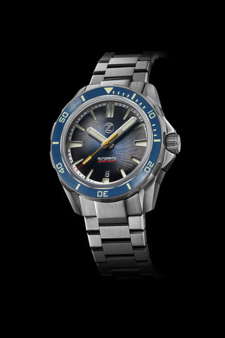 Swordfish Ti 42mm Whirlpool Blue