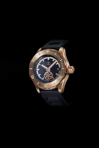 Abyss 2 Turbine 3000m Bronze : Black