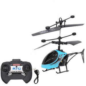 Mini Helicopter RC 2CH Gyro - Evolutions Drone