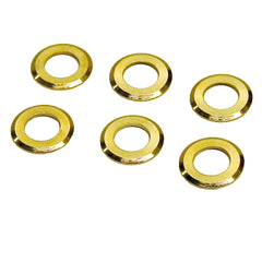 Genuine Fender Gold Tuning Machine Washers fits Schaller Tuning Machines
