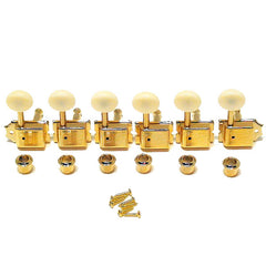 Genuine Fender Gold Tuning Machines for Fender Kingman 10 Acoustic Guitar