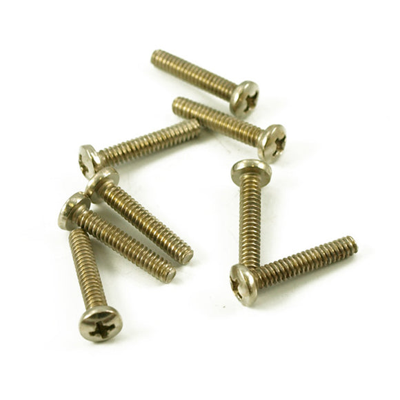 Replacement Single Coil Pickup Screws Nickel - Set of 8 - Ant Hill Music