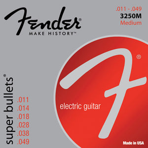 Fender Super Bullets Electric Guitar Strings Medium 3250M 11-49 - Ant Hill Music