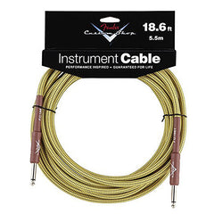 "Fender Custom Shop Performance Series Cable Straight 1/4"" in Tweed 18.6 FT"