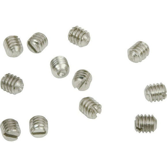 Genuine Fender Set Screws - Vintage Barrel/Dome Knobs - P Bass & Tele - Qty 12 - Ant Hill Music