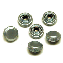 Genuine Fender Locking Caps for Fender Schaller Locking Tuners BRUSHED Chrome
